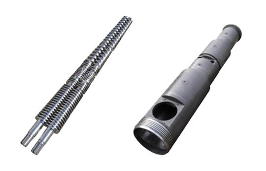 Feed Screw and Barrel Assembly